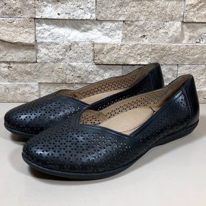 Dansko Flats Womens Shoes Neely Leather 39 8.5-9